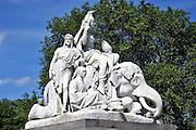 Albert Memorial, Kensington Gardens, London - details