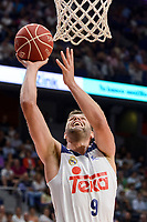 Real Madrid's Felipe Reyes during semi finals of playoff Liga Endesa match between Real Madrid and Unicaja Malaga at Wizink Center in Madrid, June 02, 2017. Spain.<br /> (ALTERPHOTOS/BorjaB.Hojas)