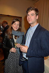 LONDON, ENGLAND 28 NOVEMBER 2016: Coraly von Bismarck, Niko Munz at a reception to celebrate the publication of The Sovereign Artist by Christopher Le Brun and Wolf Burchard held at the Royal Academy of Art, Piccadilly, London, England. 28 November 2016.