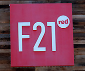 Forever 21's F21 Red store