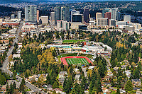 Bellevue High School Campus & Downtown Bellevue