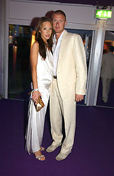 ANDREW FLINTOFF and his wife RACHEL at The Summer Ball in Berkeley Square , Londin W1 in aid of the Prince's Trust on 6th July 2006.<br /><br />NON EXCLUSIVE - WORLD RIGHTS