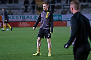 Stephen Quinn warms up before the EFL Sky Bet League 1 match between Burton Albion and Southend United at the Pirelli Stadium, Burton upon Trent, England on 3 December 2019.