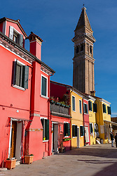 Views of Burano, a small island in the Venice lagoon. From a series of travel photos in Italy. Photo date: Tuesday, February 12, 2019. Photo credit should read: Richard Gray/EMPICS
