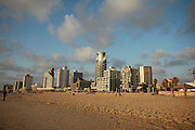 Tel Aviv sky line as seen from the west, May 2006