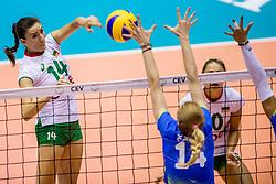 22-08-2017 NED: World Qualifications Slovenia - Bulgaria, Rotterdam<br /> Bulgaria win 3-1 against Slovenia / Emiliya Dimitrova #14 of Bulgaria<br /> Photo by Ronald Hoogendoorn / Sportida