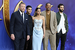 Guy Ritchie, Mena Massoud, Will Smith, Naomi Scott and Marwan Kenzari arrive at the UK premiere of Aladdin in London's Leicester Square.<br /><br />9 May 2019.<br /><br />Please byline: Vantagenews.com