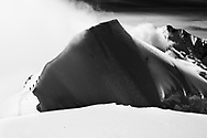 Impressionen von einer Klettertour über die Ostrippe in der Nordwand des Piz Palü (3900) ein einem schönen Sommertag im August