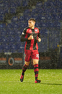 22 of St Mirren Marcus Fraser celebrates goal during the Scottish Premiership match between Ross County FC and St Mirren FC at the Global Energy Stadium, Dingwall, Scotland on 26 December 2020
