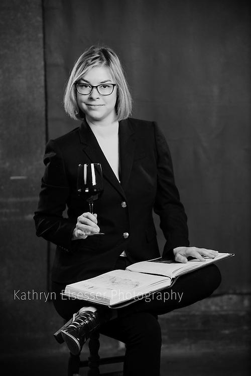 A Portrait of Sabrina Lueck, instructor of Enology at Walla Walla Community College