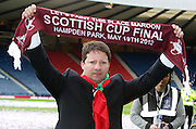The William Hill Scottish FA Cup Final 2012 Hibernian Football Club v Heart Of Midlothian Football Club..19-05-12...Hearts Manager Paulo Sergio  during the William Hill Scottish FA Cup Final 2012 between (SPL) Scottish Premier League clubs Hibernian FC and Heart Of Midlothian FC. It's the first all Edinburgh Final since 1986 which Hearts won 3-1. Hearts bid to win the trophy since their last victory in 2006, and Hibs aim to win the Scottish Cup for the first time since 1902....At The Scottish National Stadium, Hampden Park, Glasgow...Picture Mark Davison/ ProLens PhotoAgency/ PLPA.Saturday 19th May 2012.