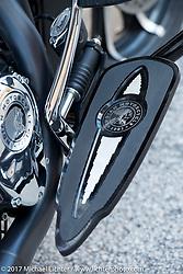 2017 Indian Chieftain Limited (accessorized) photographed during Daytona Bike Week. Daytona Beach, FL. USA. Friday March 10, 2017. Photography ©2017 Michael Lichter.
