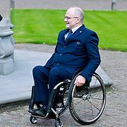 NLD/Apeldoorn/20110913 - Prinses Margriet ontvangt erebestuur Internationaal Paralympisch Comite, Sir Phiip Craven