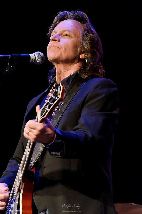 Jeff Hanna of Nitty Gritty Dirt Band on stage at the Landis Theater in Vineland, NJ.