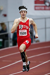Conrad Rousseau, Boston U, 500<br /> Boston University Athletics<br /> Hemery Invitational Indoor Track & Field