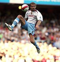 Photo: Chris Ratcliffe.<br /> West Ham United v Aston Villa. The Barclays Premiership. 10/09/2006.<br /> Olof Mellberg of Aston Villa.