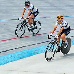 23-07-2020: Wielrennen: baantraining: Assen<br />Training KNWU baanploeg duur Amy Pieters, Kirsten Wild
