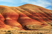 Painted Hills is one of the three units of the John Day Fossil Beds National Monument, located in Wheeler County, Oregon
