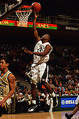 2001 UM Men's Basketball Action