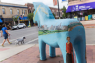 Stadsdelen Andersonville i Chicago, där majoriteten av innvånarna var svenskar i början av förra seklet. <br /> <br /> Foto: Christina Sjögren