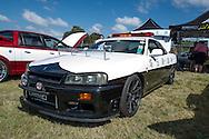 Nissan R34 Skyline Police Car  - Custom Cars & Coffee November 2014