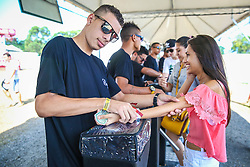 Público em geral na abertura do 2º dia da 22ª edição do Planeta Atlântida. O maior festival de música do Sul do Brasil ocorre nos dias 3 e 4 de fevereiro, na SABA, na praia de Atlântida, no Litoral Norte gaúcho.  Foto: Marcos Nagelstein / Agência Preview