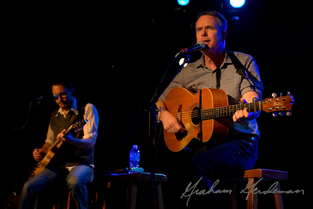 Rick Price and Sam Hawksley of the Little Rippers perform at the Rutledge in Nashville, TN