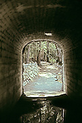On the way to Happy Isles.  Foot tunnel under valley road.  Yosemite, NP.  USA