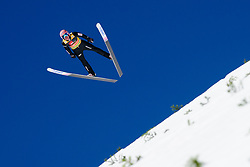 March 23, 2019 - Planica, Slovenia - Dawid Kubacki of Poland in action during the team competition at Planica FIS Ski Jumping World Cup finals  on March 23, 2019 in Planica, Slovenia. (Credit Image: © Rok Rakun/Pacific Press via ZUMA Wire)