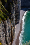 Cliffs in Etretat, Normandy, France