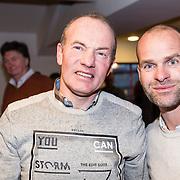 NLD/Amsterdam/20171207 - Perspresentatie Vrienden van Andere Tijden Sport 2017, Henk Angenent en Erben Wennemars