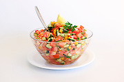 Israeli Salad Tomato and Cucumber