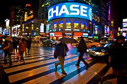 Panorama do movimento noturno na Broadway. FOTO: Jefferson Bernardes / Preview.com