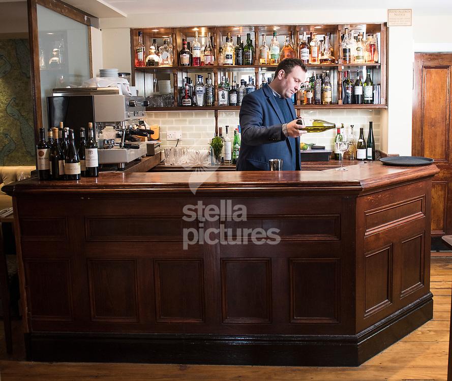 A general view of Bowling Bird restaurant, Farringdon.<br /> Picture by Daniel Hambury/@stellapicsltd 07813022858<br /> 16/03/2018