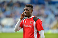 Fleetwood Town Forward, Devante Cole (44) during the EFL Sky Bet League 1 match between Portsmouth and Fleetwood Town at Fratton Park, Portsmouth, England on 16 September 2017. Photo by Adam Rivers.