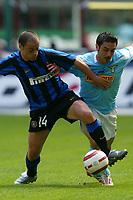 Milano 25/4/2004 Campionato Italiano Serie A - Matchday 31 <br />Inter - Lazio 0-0 <br />Javier Farinos (Inter) and Stefano Fiore (Lazio)<br /> Photo Andrea Staccioli Graffiti