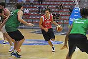 Sassari 14 Agosto 2012 - Qualificazioni Eurobasket 2013 -Allenamento<br /> Nella Foto : ANDREA CINCIARINI<br /> Foto Ciamillo
