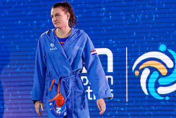 21-01-2020 HUN: European Water polo Championship, Budapest <br /> Slovakia - Netherlands 2—32 / Maud Megens #2 of Netherlands during LEN European Aquatics Waterpolo on January 21, 2020. SVK vs Netherlands in Duna Arena in Budapest, Hungary