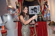 ELIZABETH HURLEY, Grey Goose Winter Ball to benefit the Elton John Aids Foundation. Battersea Power Station. London. 10 November 2012.