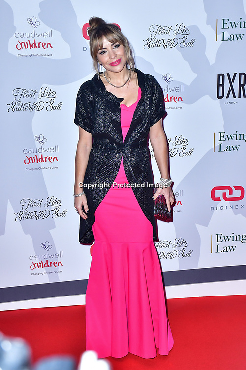 Elen Rivas arrive at Float Like A Butterfly Ball for Caudwell Children Charity at Grosvenor House Hotel on 16 November 2019, London, UK.