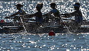 Brandenburg, GERMANY, Forground, GBR LW2X, Bow Charlotte TAYLOR and Kat COPELAND. 2016 European Rowing Championships at the Regattastrecke Beetzsee<br /> <br /> Sunday  08/05/2016<br /> <br /> [Mandatory Credit; Peter SPURRIER/Intersport-images]