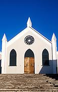 Quaint streets of St George Parish, Bermuda