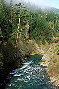The south fork of the Smith River, Six Rivers National Forest, California.