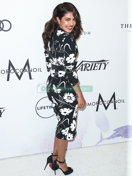 Priyanka Chopra wearing Michael Kors arrives at the Variety's Power Of Women Los Angeles 2017 held at The Beverly Wilshire Hotel on October 13, 2017 in Beverly Hills, California. 13 Oct 2017 Pictured: Priyanka Chopra. Photo credit: IPA/MEGA TheMegaAgency.com +1 888 505 6342