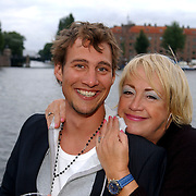 NLD/Amsterdam/20050808 - Deelnemers Sterrenslag 2005, Eric Bouwman en Viola Holt