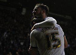 Bradley Johnson of Derby County celebrates scoring his sides first goal - Mandatory byline: Jack Phillips / JMP - 07966386802 - 12/12/2015 - FOOTBALL - The iPro Stadium - Derby, Derbyshire - Derby County v Brighton & Hove Albion - Sky Bet Championship