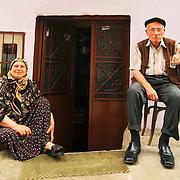 Elderly couple at Sultanahmet quarter, Istanbul
