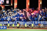 Supporters Bastia - 04.02.2015 - Monaco / Bastia - 1/2Finale Coupe de la Ligue<br /> Photo : Sebastien Nogier / Icon Sport