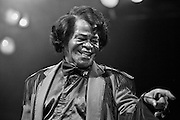 """James Brown, also known as """"The Godfather of Soul"""", performing one of his last concerts on 11 November 2005 at the House of Blues in Los Angeles, CA. USA."""