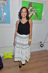 NATASHA ARCHDALE at a private view of an exhibition entitled 'All Shook Up' - by Natasha Archdale: A Retrospective held at 90 Piccadilly, London on 23rd April 2015.